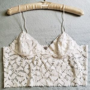 "Free People NWOT ""Lacey"" Lace Cami"